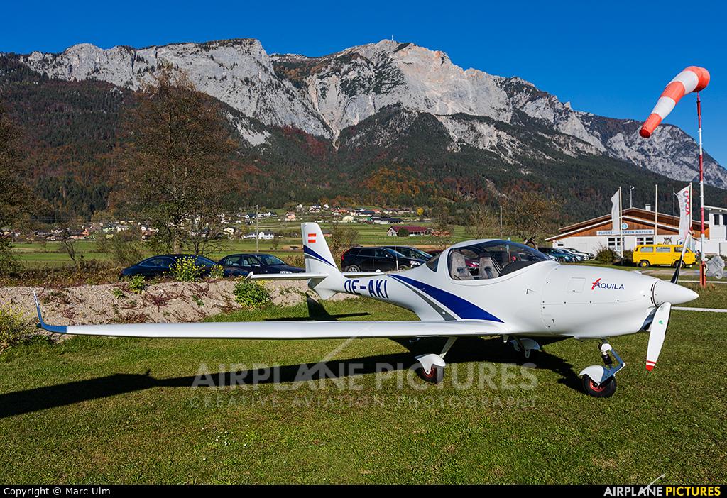 Private OE-AKI aircraft at Nötsch im Gailtal