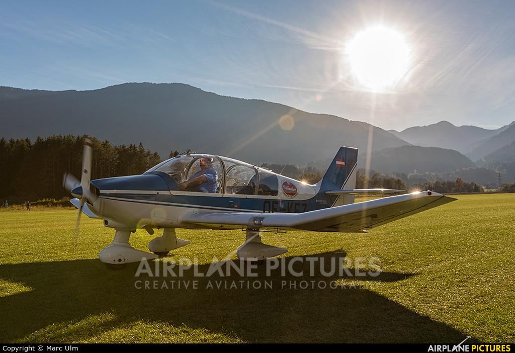 Private OE-KEZ aircraft at Nötsch im Gailtal