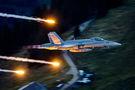 Switzerland - Air Force McDonnell Douglas F-18C Hornet J-5021 at Axalp - Ebenfluh Range airport