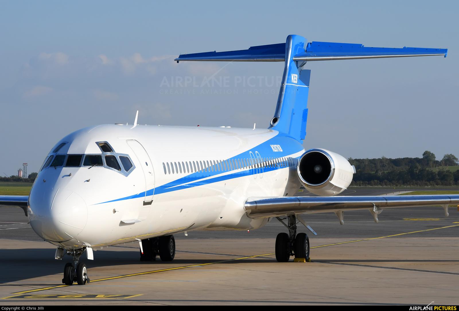 KEB Aircraft N287KB aircraft at Vienna - Schwechat