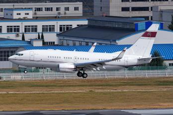 N666ML - Private Boeing 737-700 BBJ