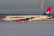 YU-APH - Air Serbia Airbus A320 aircraft