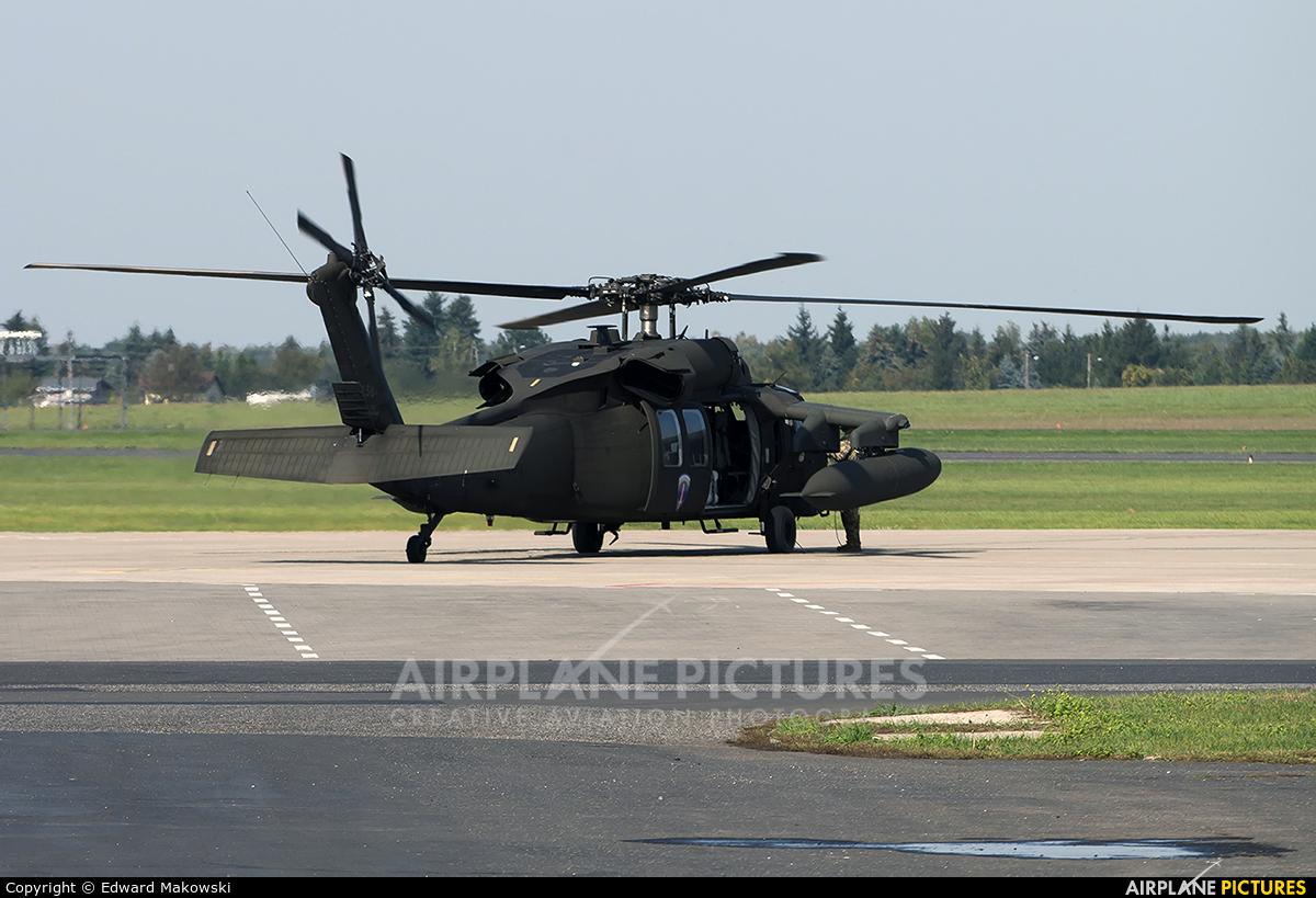 USA - Army 87-24584 aircraft at Poznań - Ławica