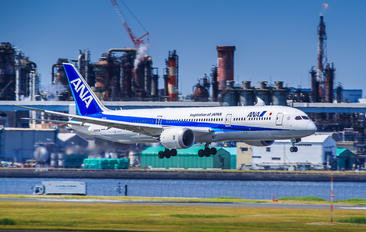 JA833A - ANA - All Nippon Airways Boeing 787-9 Dreamliner