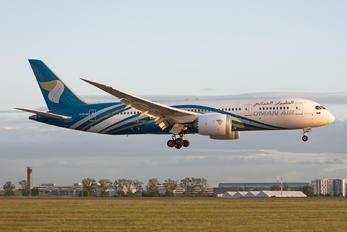 A40-SZ - Oman Air Boeing 787-8 Dreamliner