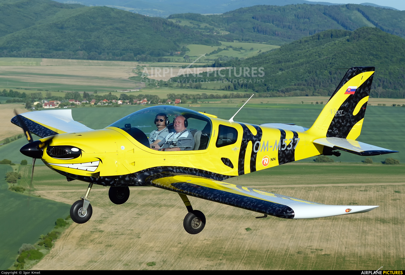Private OM-M537 aircraft at In Flight - Slovakia