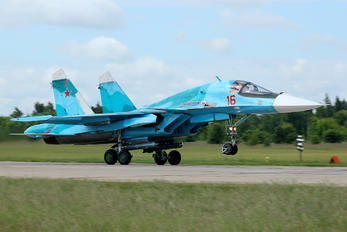 16 RED - Russia - Air Force Sukhoi Su-34