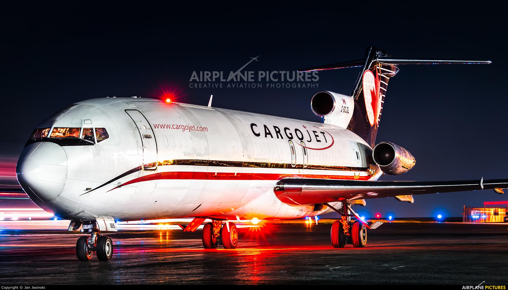 Cargojet Airways C-GCJZ aircraft at Ottawa - Macdonald-Cartier Intl, ON