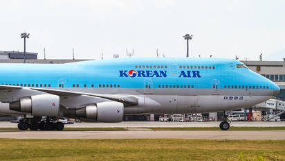 HL7491 - Korean Air Boeing 747-400