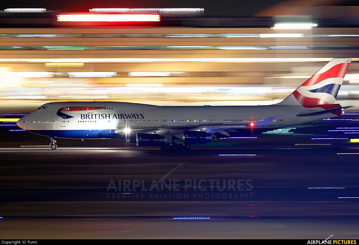 British Airways G-BYGG aircraft at Tokyo - Haneda Intl