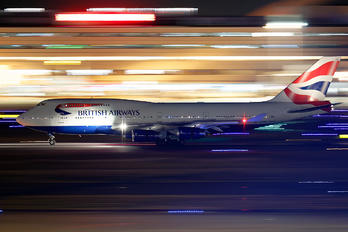 G-BYGG - British Airways Boeing 747-400