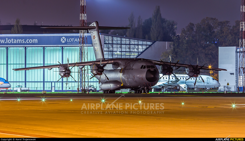 Turkey - Air Force 16-0055 aircraft at Warsaw - Frederic Chopin