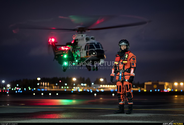 Finland - Border Guard OH-HVQ aircraft at Helsinki - Vantaa