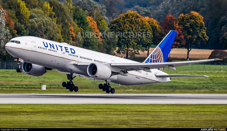 United Airlines N227UA aircraft at Munich