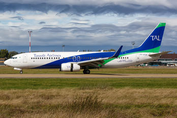 7T-VCA - Tassili Airlines Boeing 737-800