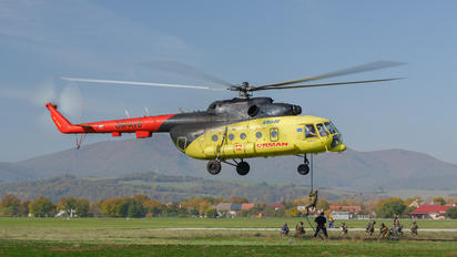 OM-AVB - UTair Europe Mil Mi-8AMT