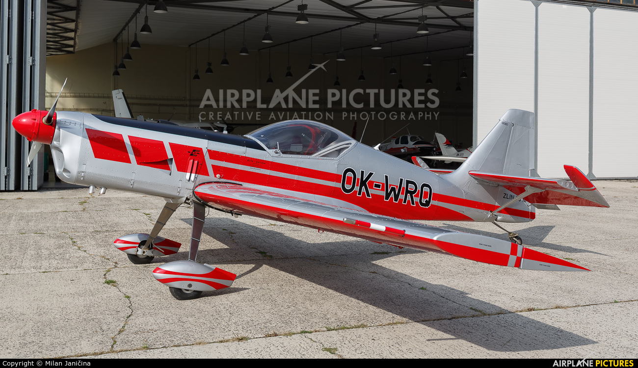 Private OK-WRQ aircraft at Trenčín