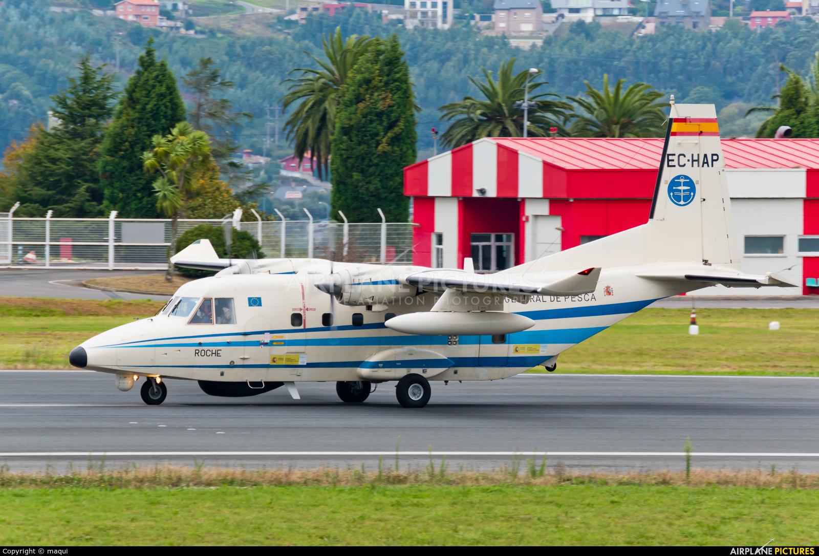 Spain - Government EC-HAP aircraft at La Coruña