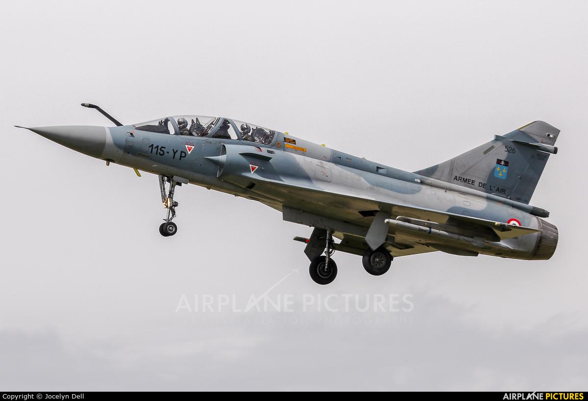 France - Air Force 115-YP aircraft at Orange - Caritat