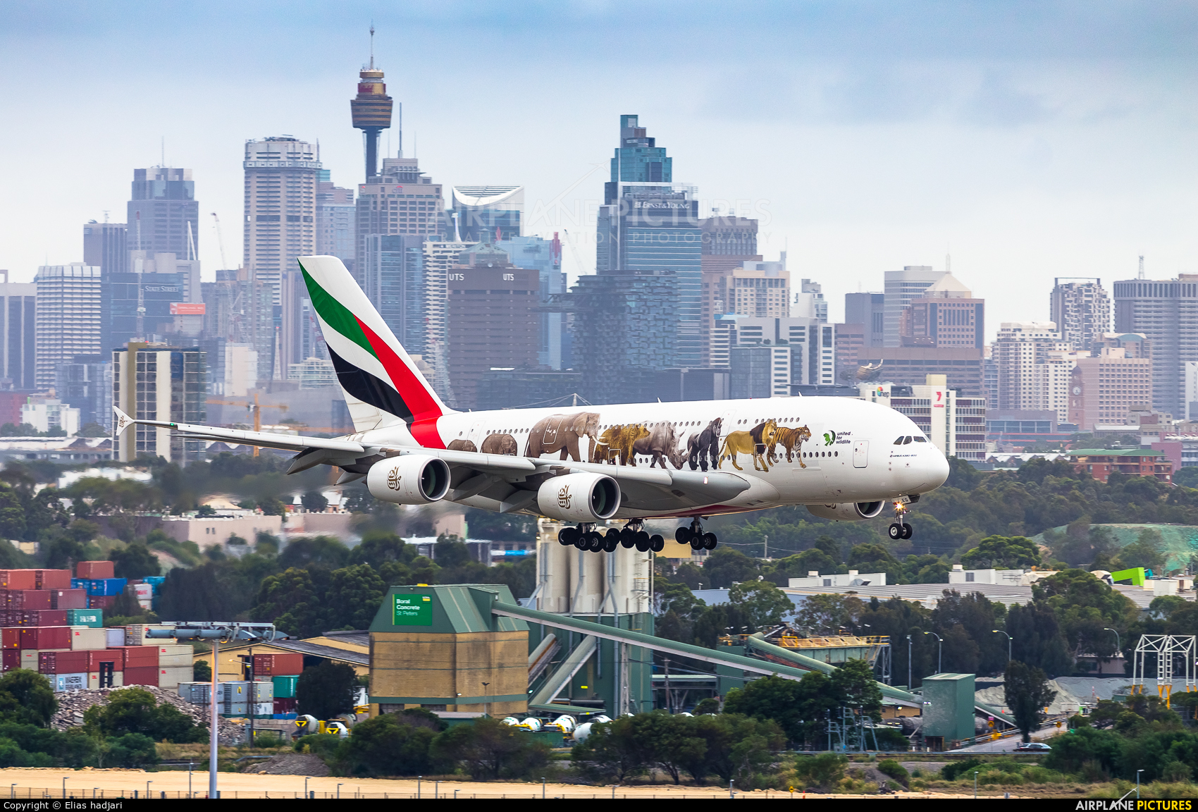Emirates Airlines A6-EEQ aircraft at Sydney - Kingsford Smith Intl, NSW