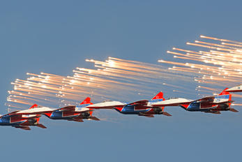"- - Russia - Air Force ""Strizhi"" Mikoyan-Gurevich MiG-29UB"