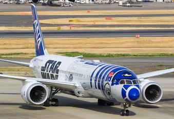 JA873A - ANA - All Nippon Airways Boeing 787-8 Dreamliner