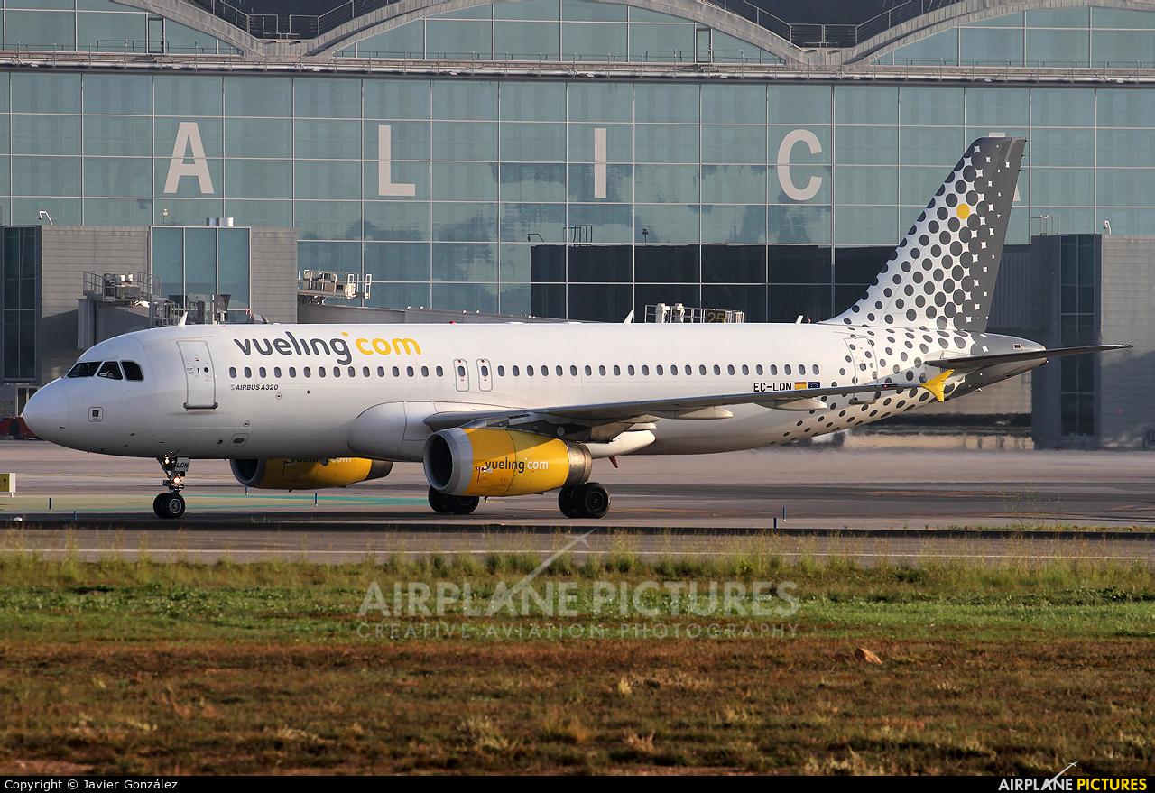 Vueling Airlines EC-LQN aircraft at Alicante - El Altet