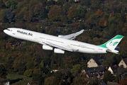 EP-MMB - Mahan Air Airbus A340-300 aircraft