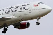 G-VROM - Virgin Atlantic Boeing 747-400 aircraft