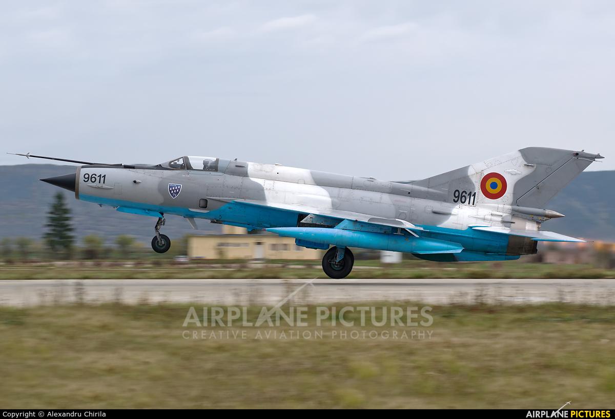 Romania - Air Force 9611 aircraft at Câmpia Turzii