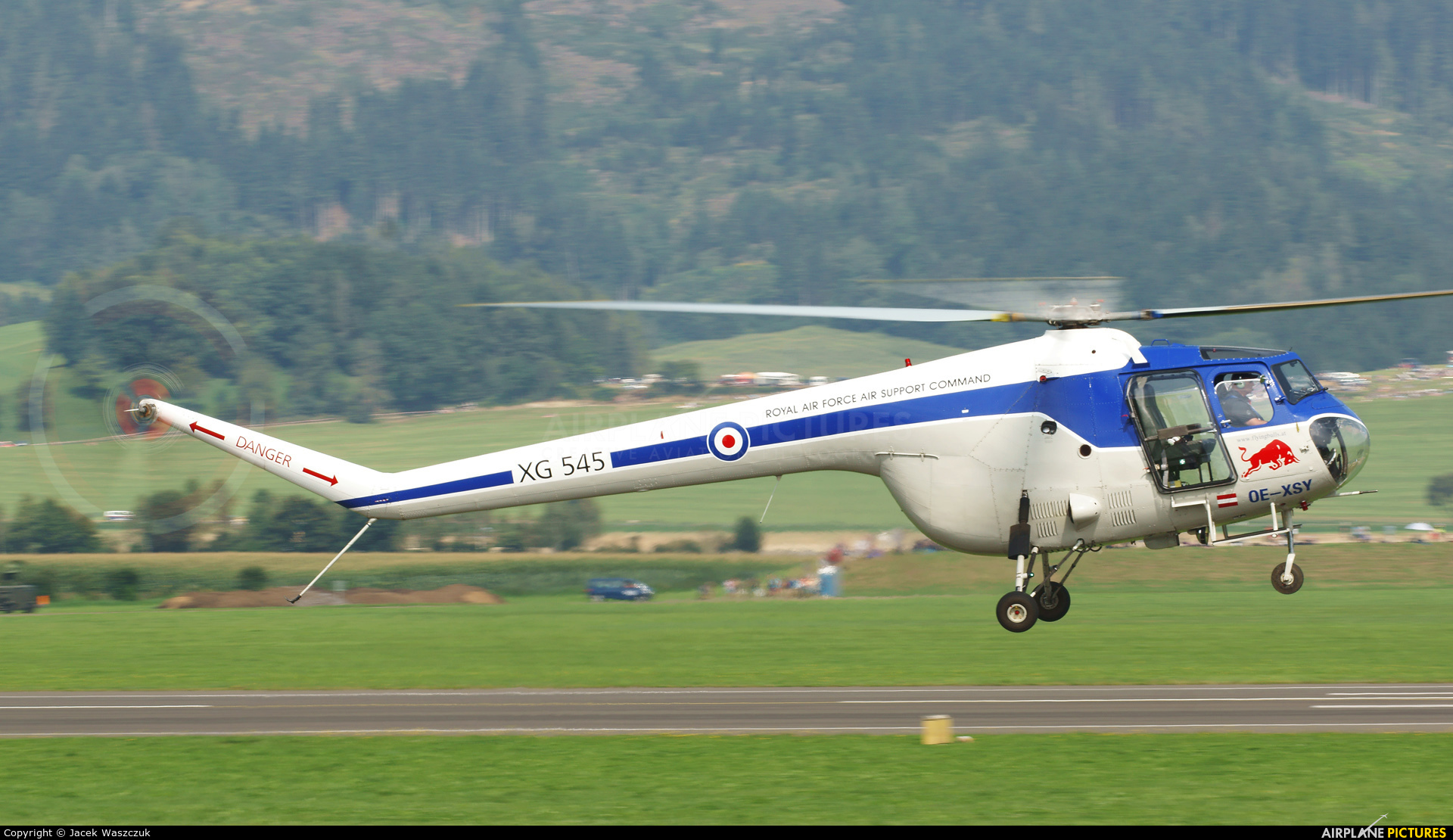 The Flying Bulls OE-XEY aircraft at Zeltweg