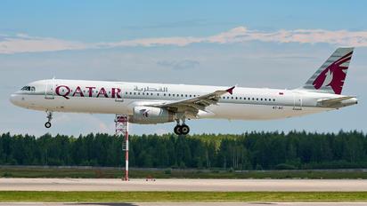 A7-AIC - Qatar Airways Airbus A321