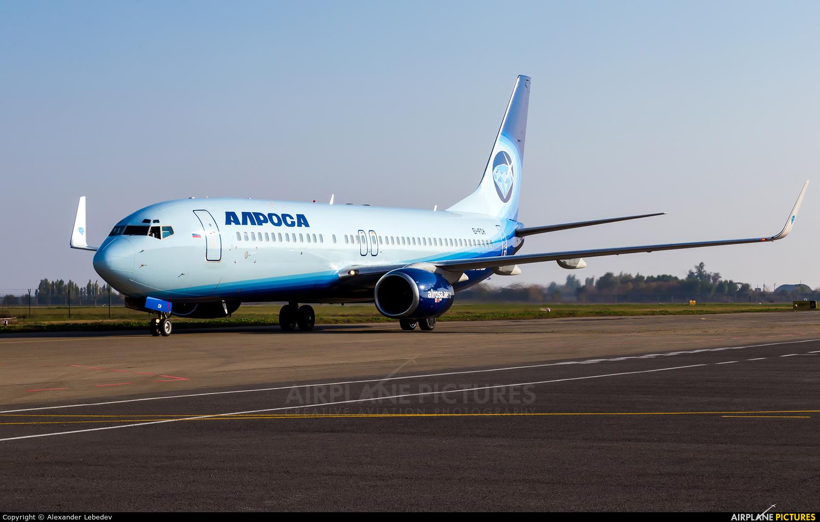 Alrosa EI-FCH aircraft at Krasnodar