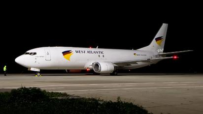 G-JMCY - West Atlantic Boeing 737-400SF