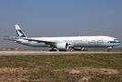 Cathay Pacific Boeing 777-300ER B-KQV at Milan - Malpensa airport