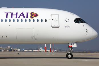 HS-THG - Thai Airways Airbus A350-900