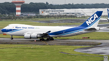 JA06KZ - Nippon Cargo Airlines Boeing 747-400F, ERF
