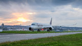Qatar Airways Airbus A350-900 A7-ALE at Zurich airport