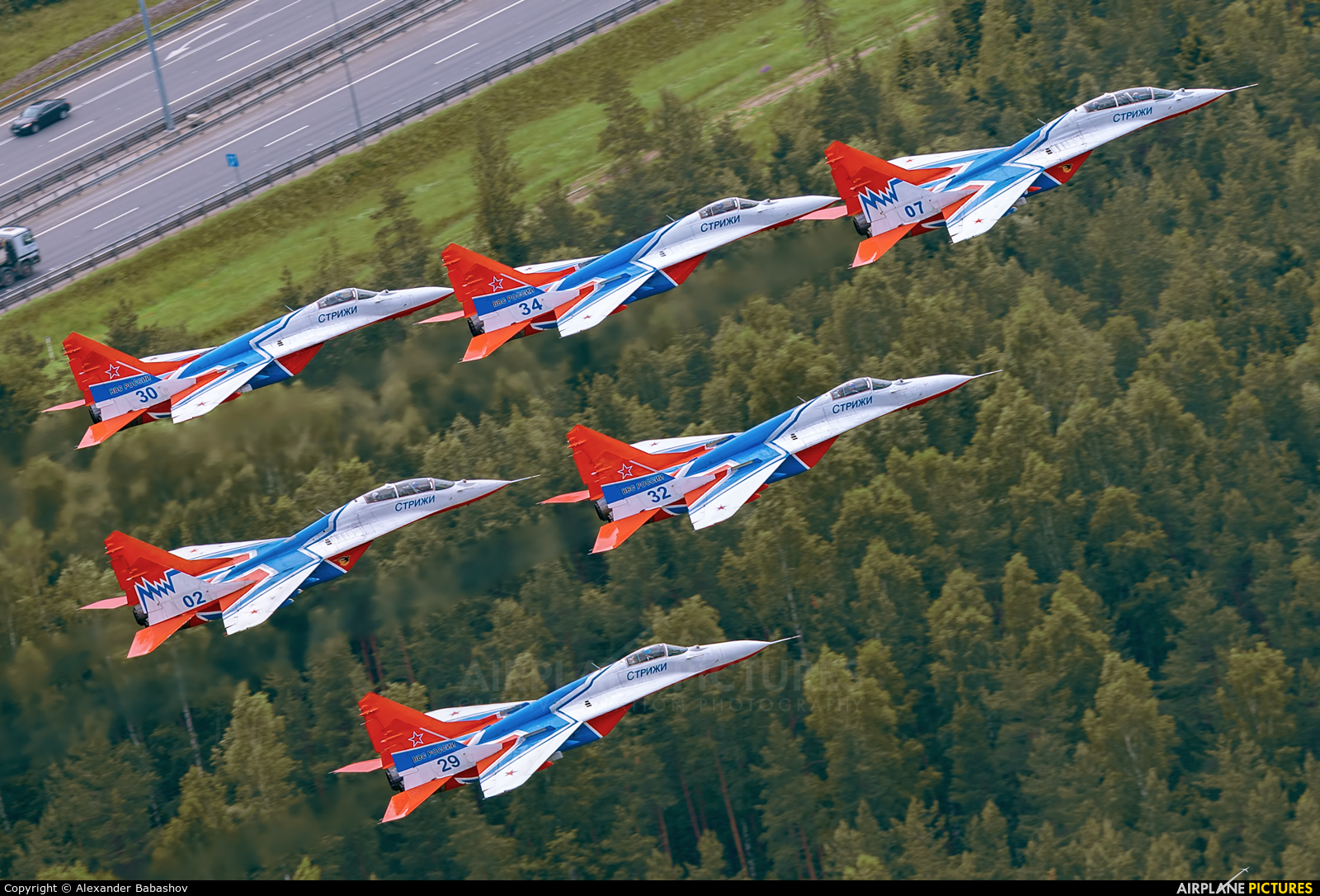 "Russia - Air Force ""Strizhi"" 07 aircraft at Undisclosed Location"