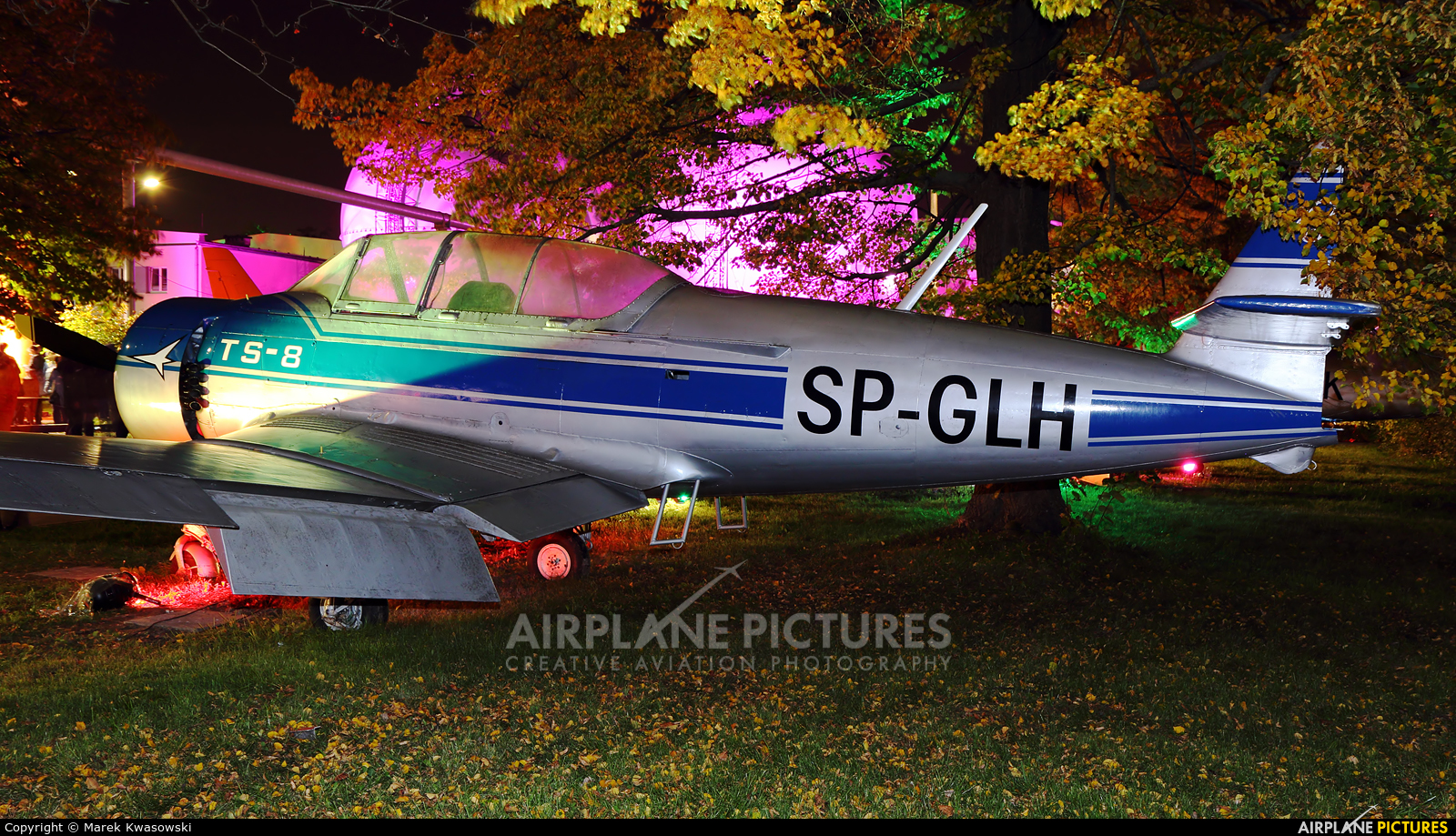 Private SP-GLH aircraft at Warsaw - Frederic Chopin