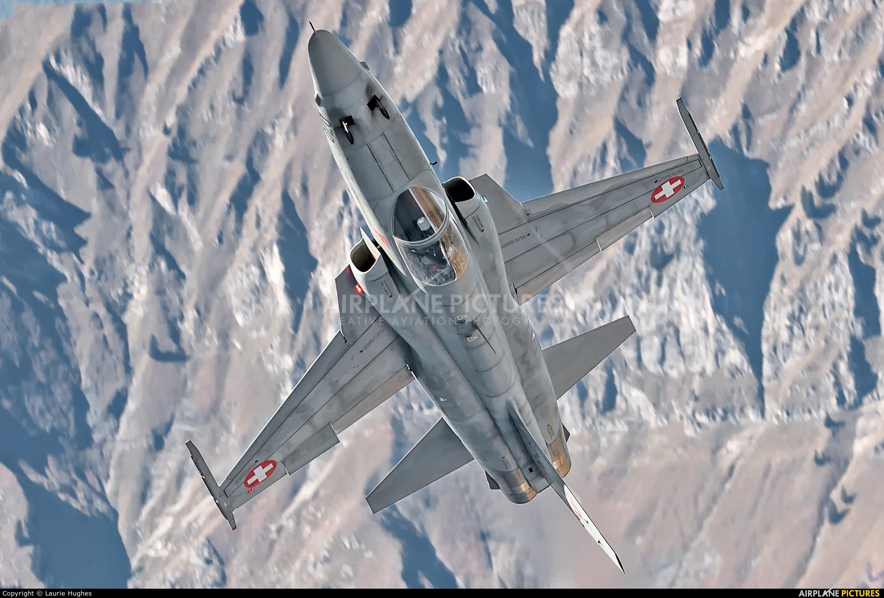Switzerland - Air Force J-3072 aircraft at Axalp - Ebenfluh Range