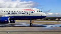 G-TTOE - British Airways Airbus A320 aircraft