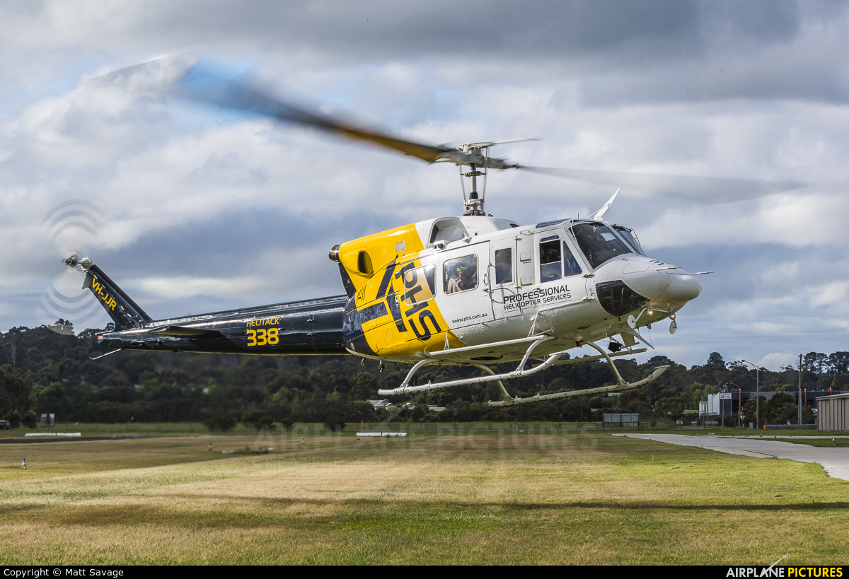 Professional Helicopter Services VH-JJR aircraft at Tyabb, VIC