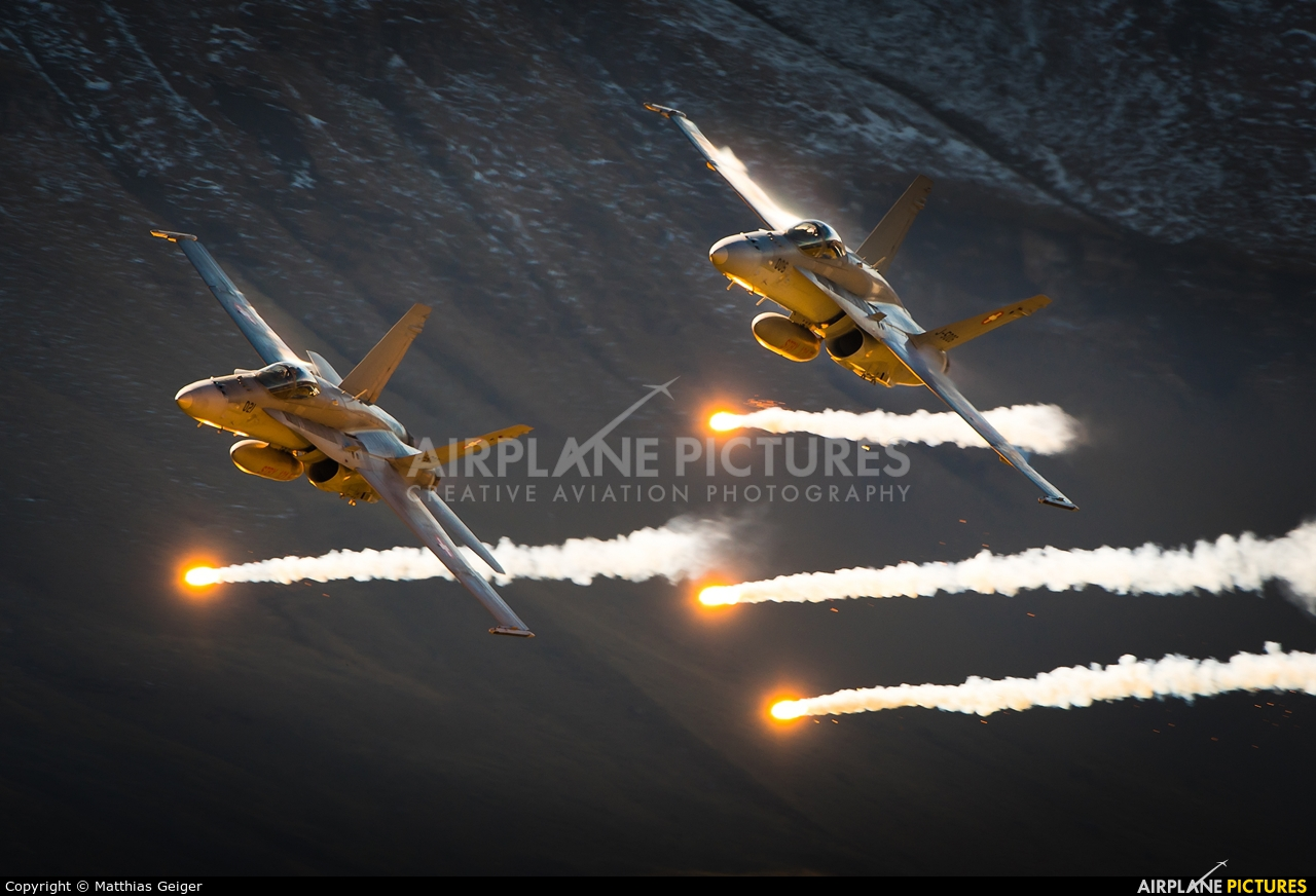 Switzerland - Air Force J-5021 aircraft at Axalp - Ebenfluh Range