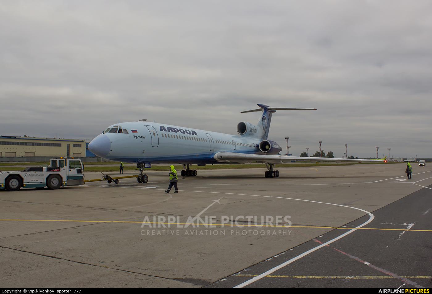 Alrosa RA-85684 aircraft at Moscow - Domodedovo