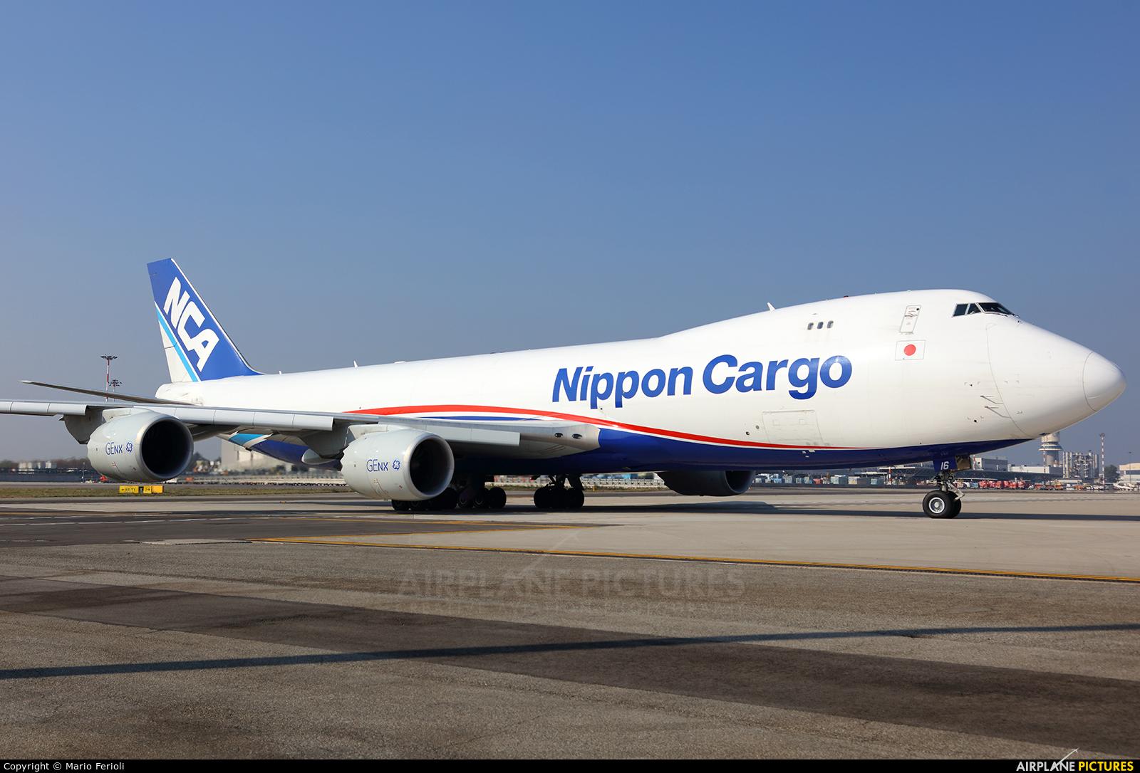 Nippon Cargo Airlines JA16KZ aircraft at Milan - Malpensa