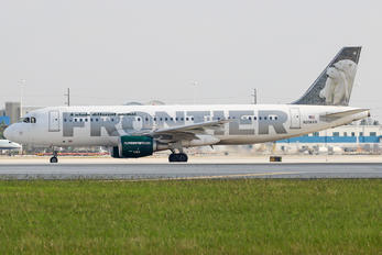 N206FR - Frontier Airlines Airbus A320