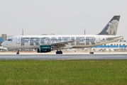 N206FR - Frontier Airlines Airbus A320 aircraft