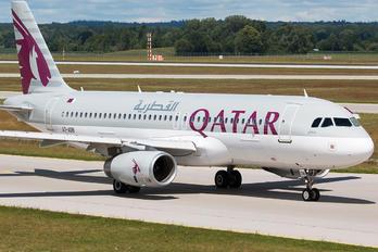 A7-ADB - Qatar Airways Airbus A320