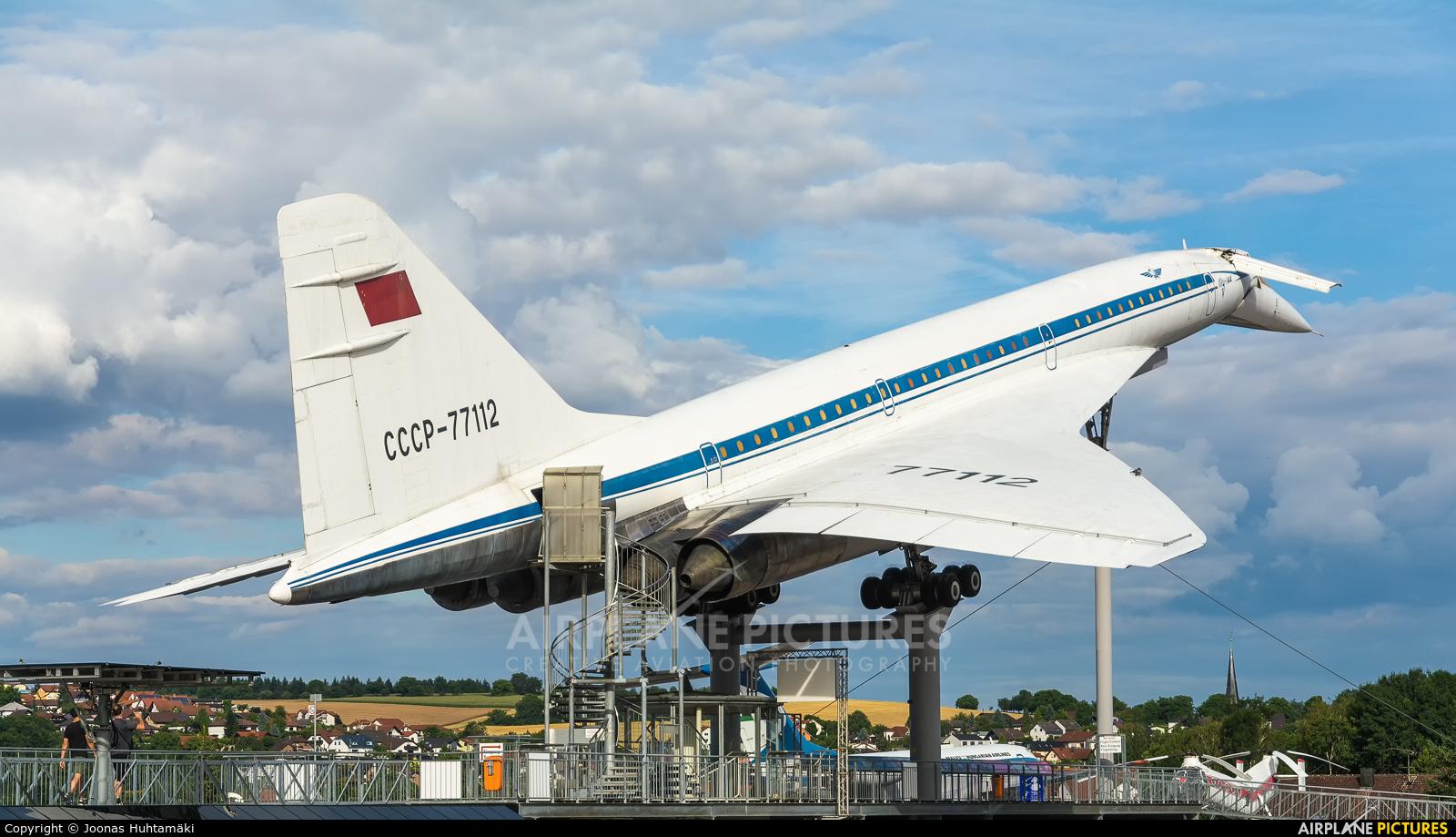 Aeroflot CCCP-77112 aircraft at Sinsheim, Auto & Technik Museum